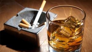 koroner tıkanıklığı sigara alkoll zararları